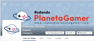 Rodando Planeta Gamer no Facebook