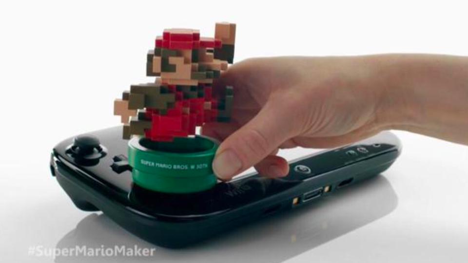 Amiibo Mario 8-bit