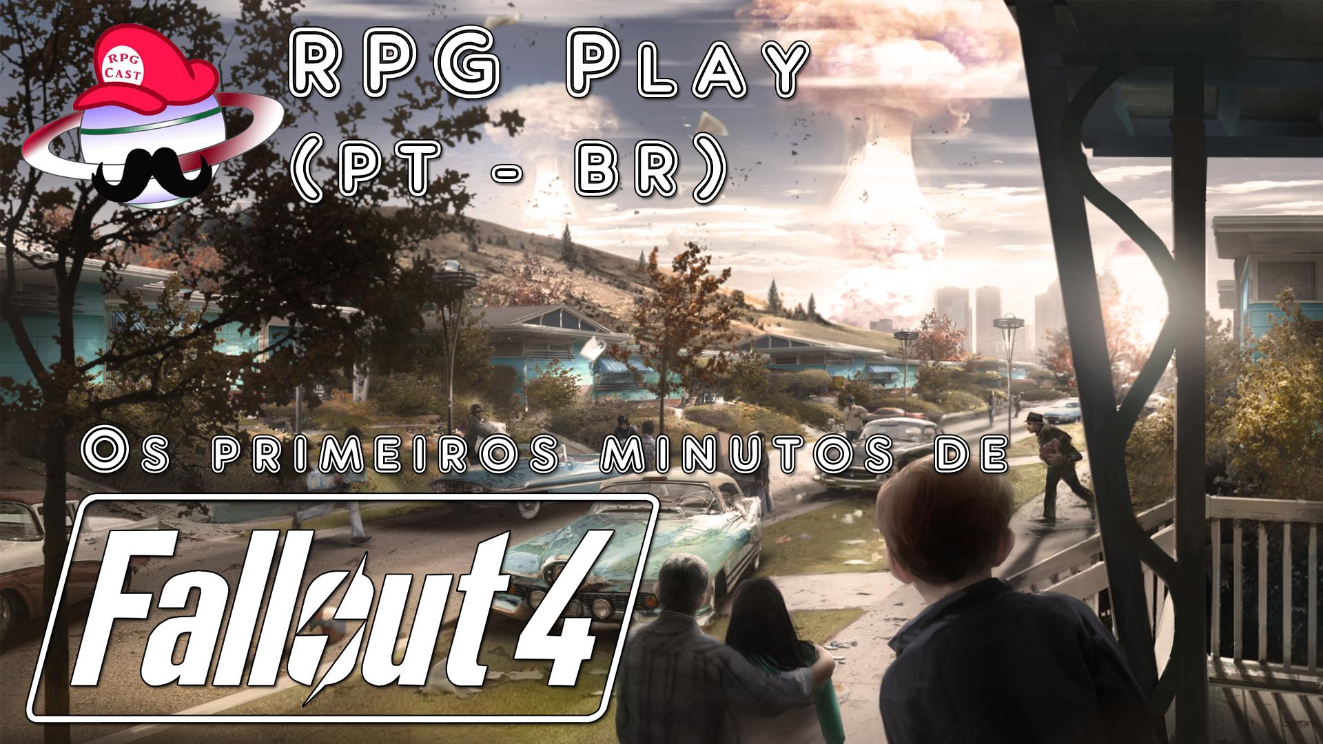 Os primeiros minutos de Fallout 4 – RPG Play