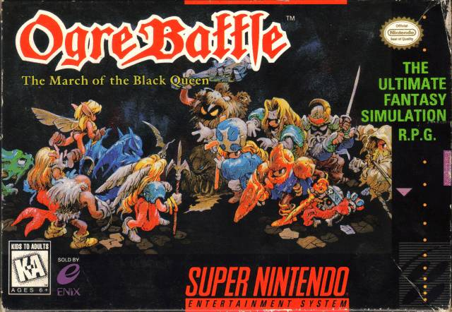 Ogre Battle – Retro Game Club