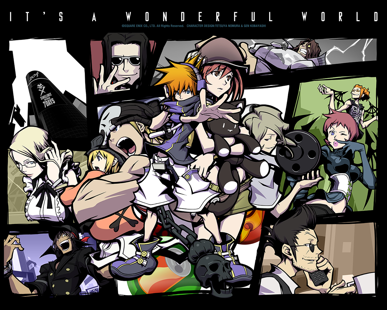 The World Ends With You – Ouvindo Games