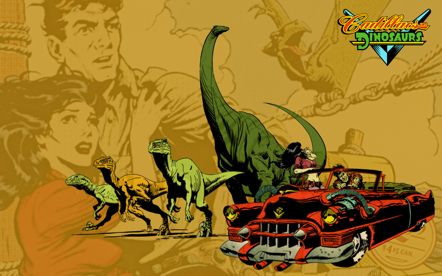 Cadillacs and Dinosaurs – Retro Game Club