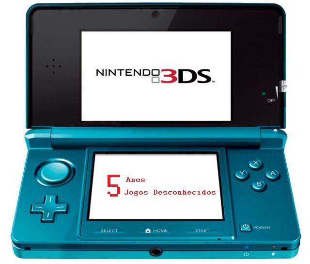 5 anos de 3DS com 5 jogos desconhecidos