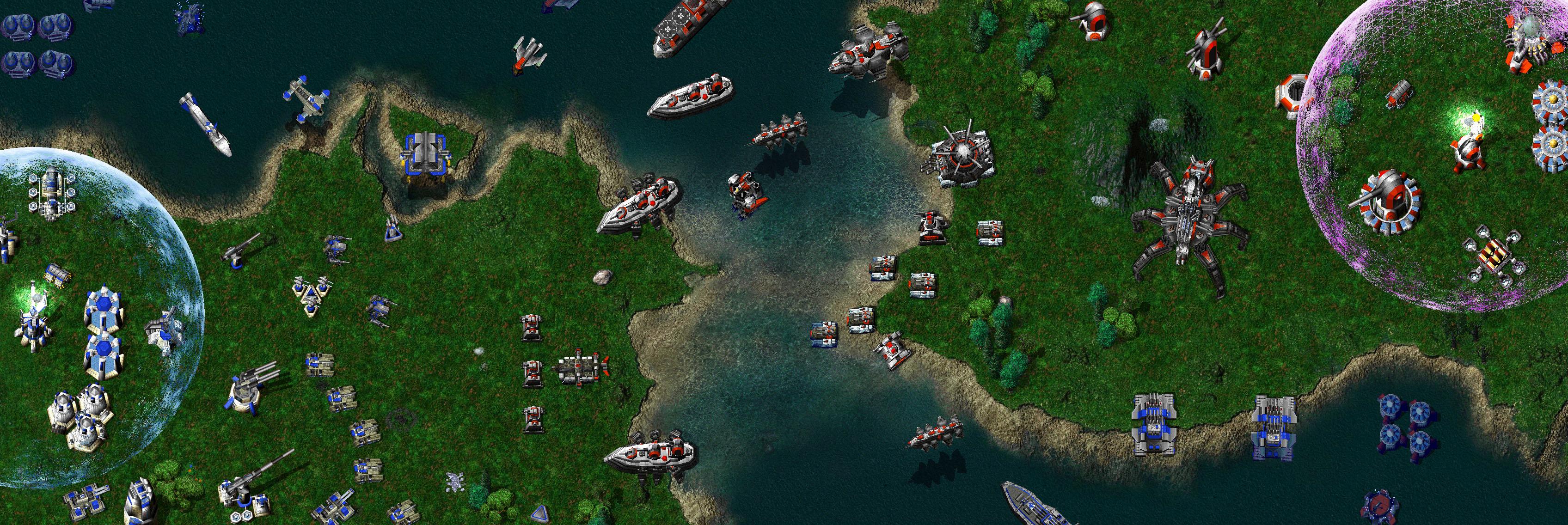As unidades navais eram as minhas favoritas