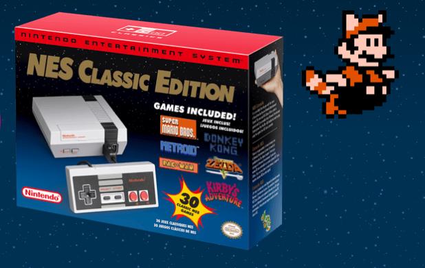 Caixa do NES Classic Edition