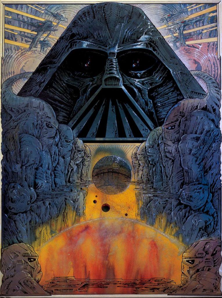 Philippe Druillet desenha Star Wars