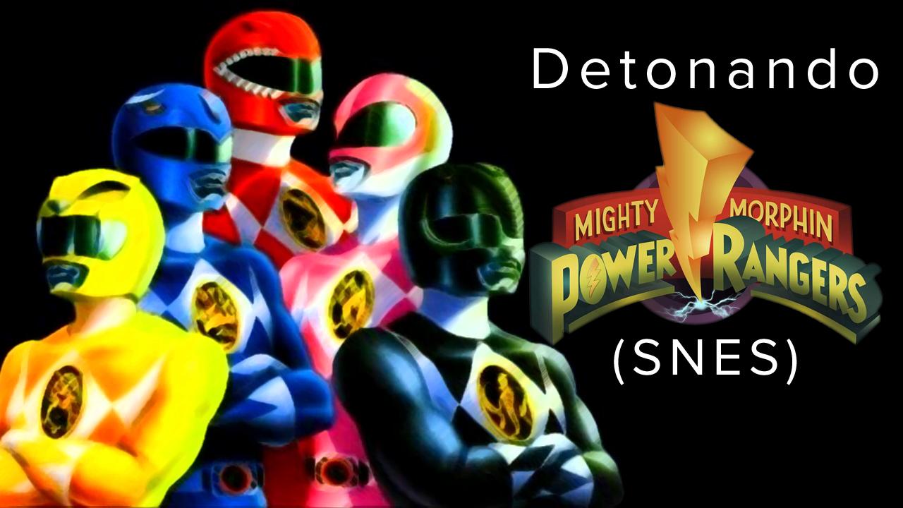 Detonando Power Rangers (SNES) – RPG Play