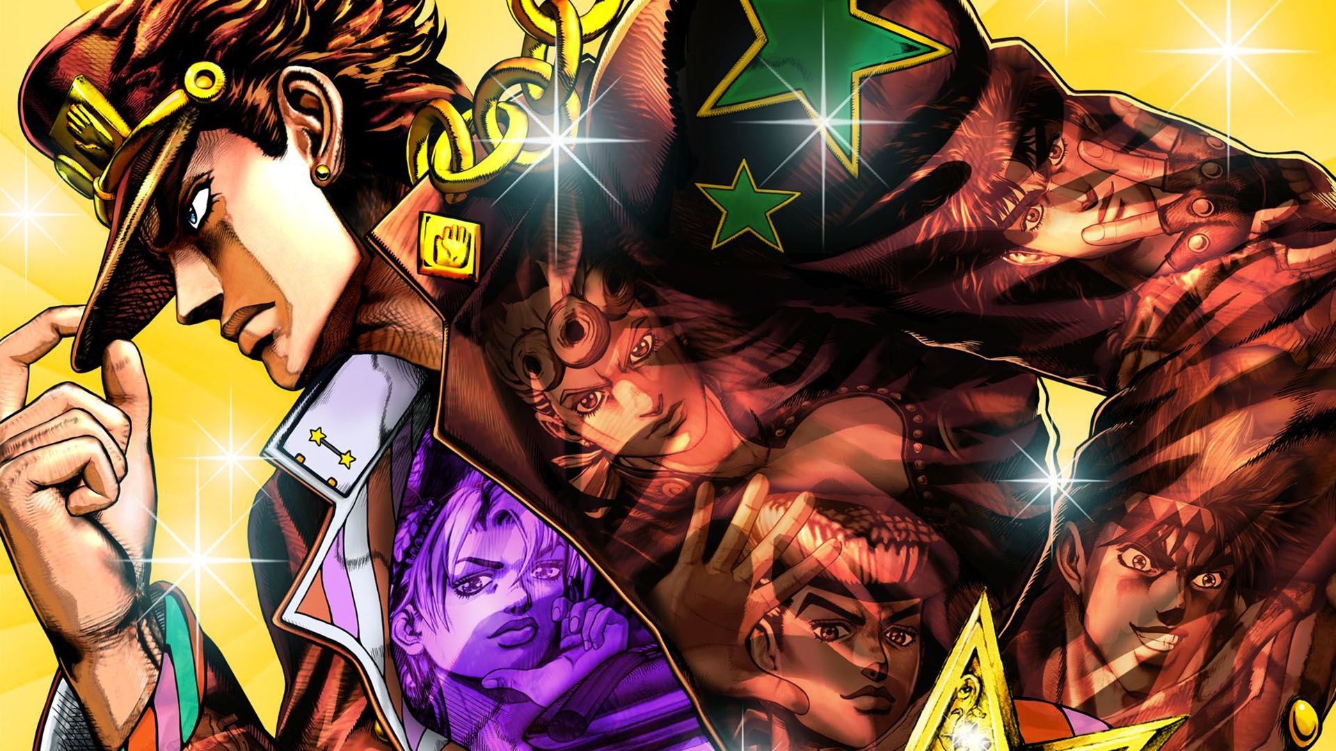 Reverse Game Club – Jojo's Bizarre Adventure