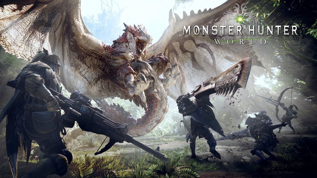 Monster Hunter World – Faça parte da Guilda Caçadores do Planeta