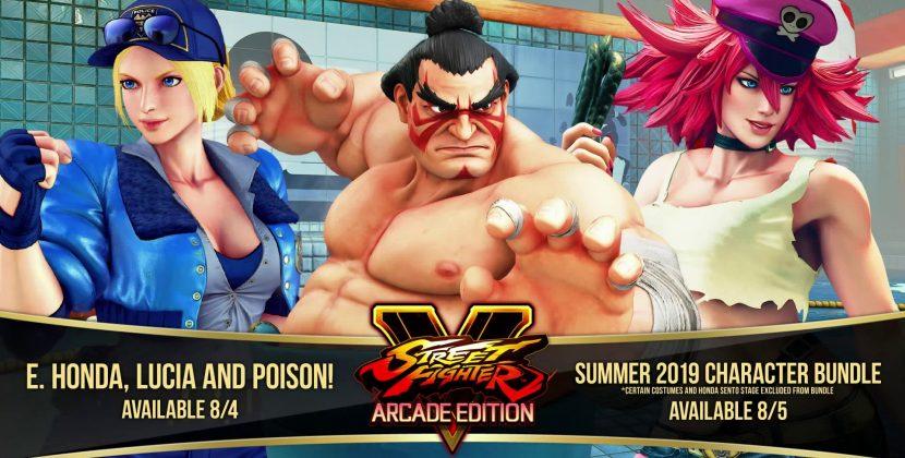 Vazamento em Street Fighter V mostra E.Honda, Lucia e Poison